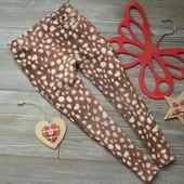 Джеггинсы треггинсы с принтом жирафа H&M (3-4 года