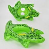 Детский надувной плотик F 21534 Крокодил