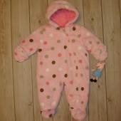Демисезонный комбинезон для девочки 6-9 месяцев Carter's