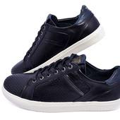Распродажа!!! Мокасины мужские кожаные с перфорацией Multi-Shoes