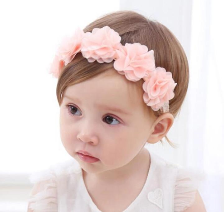 Повязка на голову на девочку веночек, новая фото №1