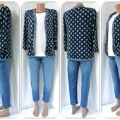 Большой выбор!Модная накидка, кимоно New Look с карманами. Размер uk10(s/m).