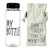 My bottle!Очень классная бутылочка,чёрная или жёлтая на выбор!