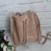Нова кожана сумка