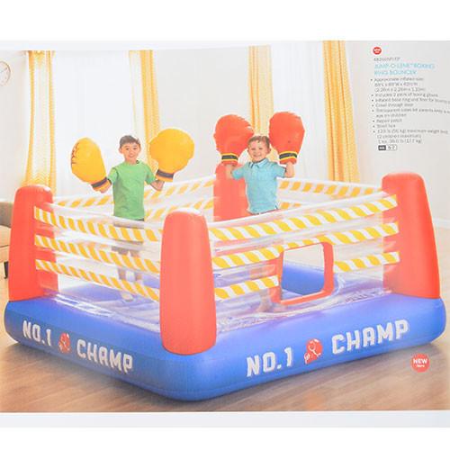 Детский надувной батут ринг 48250 фото №1