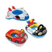Детский надувной плотик Мой автомобиль и самолёт Intex 59586