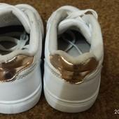 Кроссовки белые YD 34  р.