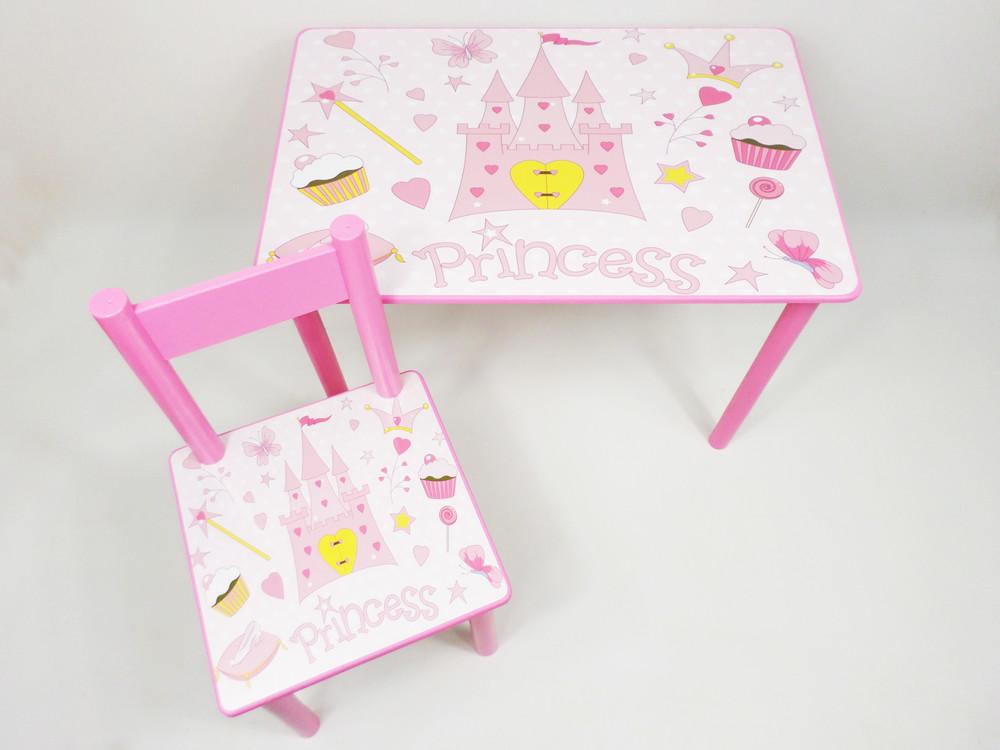 """Стол-парта и стульчик """"princess"""" от 2 до 7 лет (много вариантов) фото №1"""
