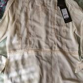 Новая блуза Zarina, размер 50, креп-шифон