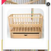Детская кроватка с матрасом от 0 до 3-х лет
