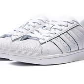 Кеды женские Adidas Superstar, р. 36-41, код kv-12721