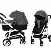 Универсальная коляска-трансформер 2в1 carrello fortuna CRL-9001 shade grey 2в1 c матрасом