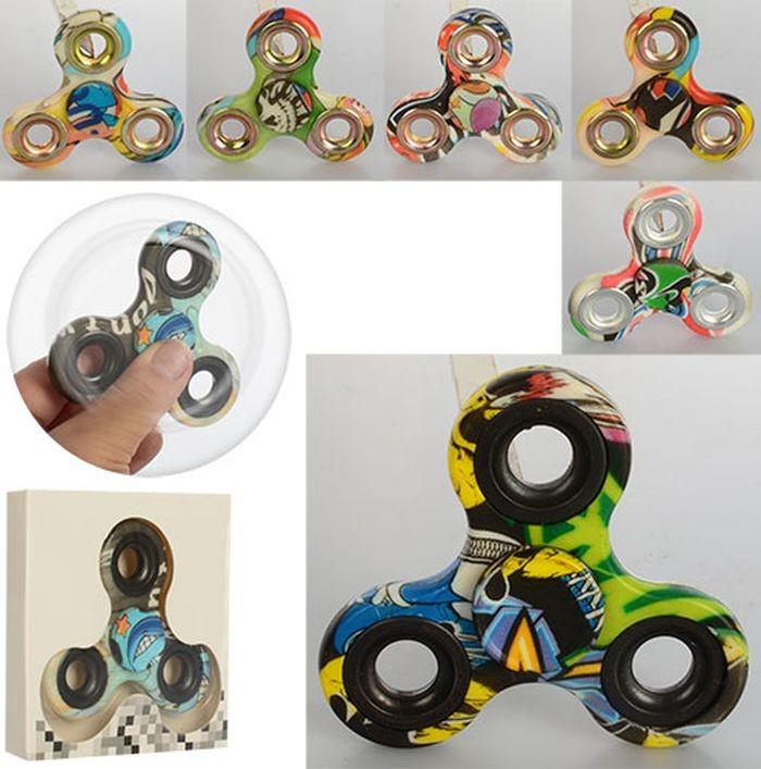 Spinner спиннер антистресс разноцветный mk1642 фото №1