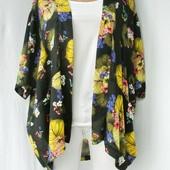 Большой выбор!Модная накидка, кимоно Atmosphere. Размер S.