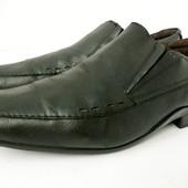 Стильные фирменные кожаные туфли Base London размер 46