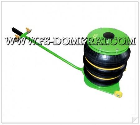 Домкрат пневматический подкатной ДП-3Ч фото №1