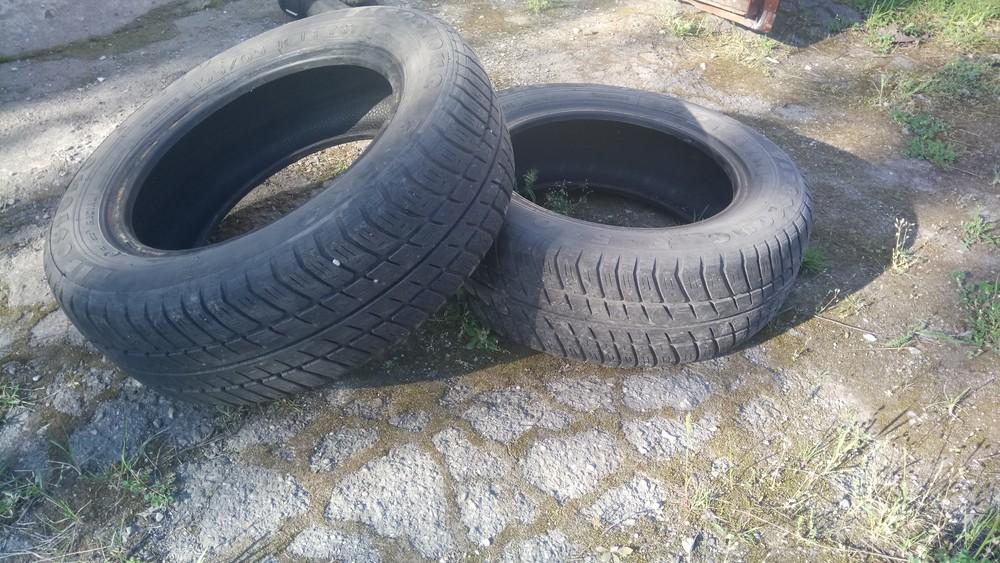 Всесезонные шины Firestone 165/65/r13 б/у фото №1