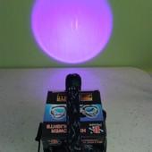 Налобный,светодиодный,фонарь,фонарик с ультрафиолетом на 2 диода police bl-2189-2