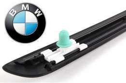 Клипсы пистон крепления молдинга листви BMW E36 E46 10 шт фото №1