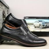 Мужские кожаные классические туфли Cevivo, р 40-45 код gavk-10863