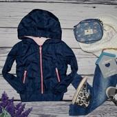 6 лет 116 см Фирменная курточка куртка ветровка для девочки