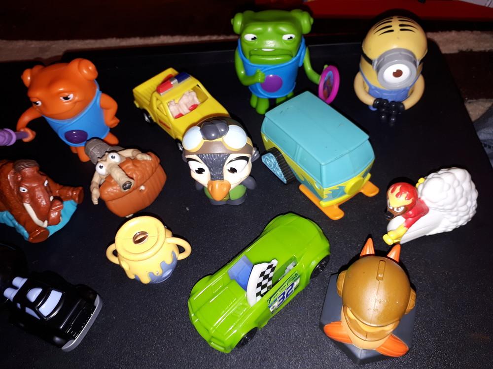 Игрушки в макдональдсе картинки