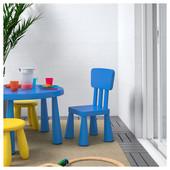 Детский стул, д/дома/улицы, синий  Икеа Маммут, 603.653.46 Ikea Mammut В наличии!
