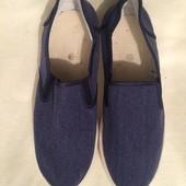 Туфли мокасины слипоны 43 размер
