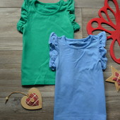 Комплект набор ажурных футболок маек Next (12-18 мес)
