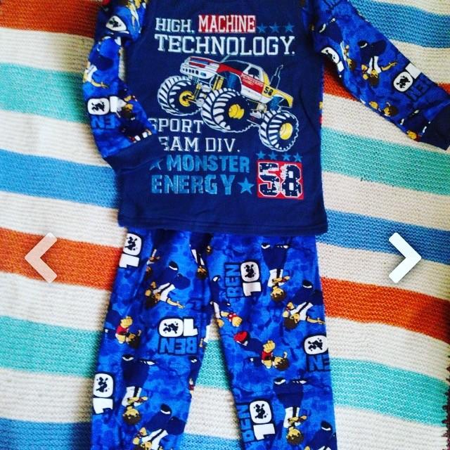 Утеплённая тёплая пижама фото №1