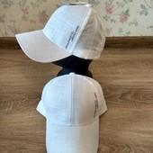 Супер бейсболка кепка лен 56-58 размер