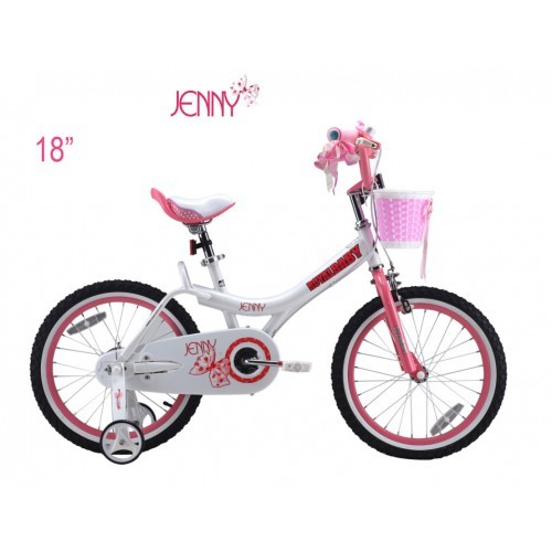 Детский велосипед royal baby little swan steel 18 фото №1