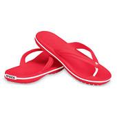 Акция  на последний размер Женские вьетнамки Crocs Crocband Flip Flop
