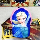 13-91 Кепка Frozen детская бейсболка панамка шапка головные уборы