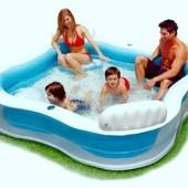 Детский надувной бассейн Intex 56475, 229 х 229 х 66 см
