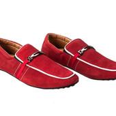 Туфли - мокасины Demax Натуральная замша 43, 44 р.