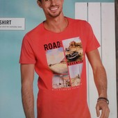 Стильная мужская футболка р.XL Livergy Германия