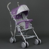 Коляска прогулочная Joy 108 S фиолетовая