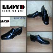 Мужские классические туфли Lloyd, Германия, оригинал, 29,5 -30 см, 44,5 р-р