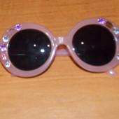 Гламурные очки для девочки 2-7 лет