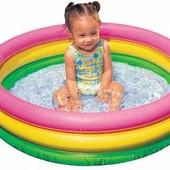 Детский надувной бассейн «Радуга» Intex 57402
