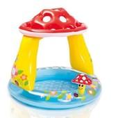 Детский надувной бассейн Intex 57114 «Грибочек» (102*89 см)
