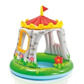 Детский надувной бассейн «Королевский Замок» Intex 57122 (122*122 см)