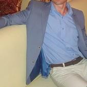 Продам очень стильный весенне-летний мужской пиджак.Состояние нового!!!