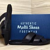 Шлепанцы мужские кожа Multi-Shoes