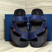 Шлепанцы мужские кожа Multi-Shoes Fabio