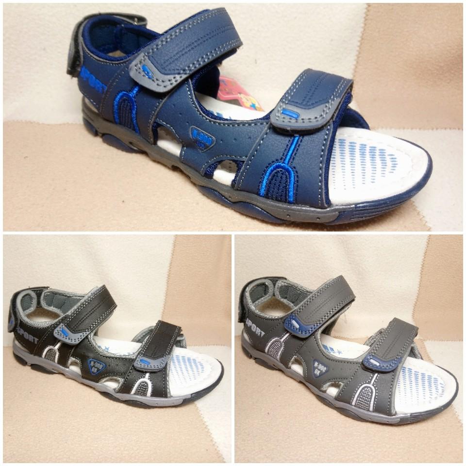 Комфортные сандалии мальчикам, р.36-41 фото №1