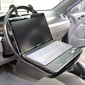 Столик-подставка в автомобиль,автомобильный столик д\ноутбука на руль