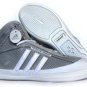 44 и 45 р Кроссовки мужские Adidas летние натуральная кожа (А-36ср)