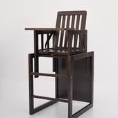 Деревянный стульчик для кормления (орех)